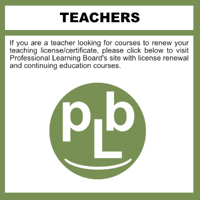 Online K-12 Teacher License Renewal Courses