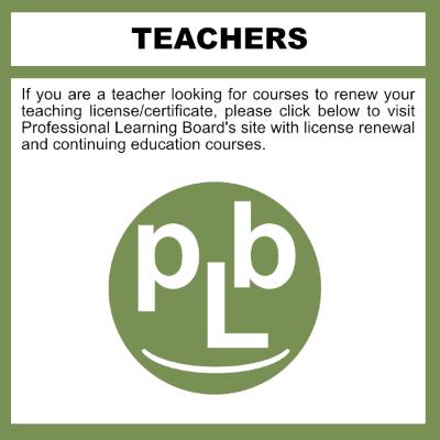 Online K-12 Teacher License Renewal Courses